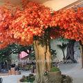 Artificial topiary as árvores/artificial red maple árvore/artificial da árvore de bordo