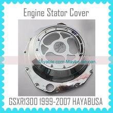 For SUZUKI GSXR1300 hayabusa 99-07 1999-2009 99 00 01 02 03 04 05 06 07 Aluminum Engine Stator Cover