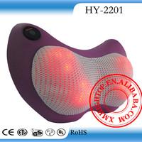 Fashionable design neck and shoulder massage pillow