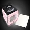 2014 new custom cupcake box with PVC window
