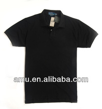 Free sample Wholesale custom Promotional Blue classic polo t-shirts