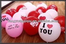 china manufacturer printable balloons! advertising latex balloon! free samples