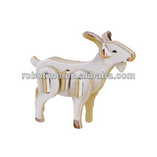 Robotime wooden 3D Puzzle toy -Goat sheep