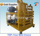 Hi-vacuum transformer oil purifying machine improves oil dielectric values and restores the oil quality,high technology