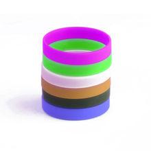 Customized thin silicone sport bracelet /sport promotion