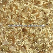 Manufacture Boomwow Gold Rose Petal Confetti