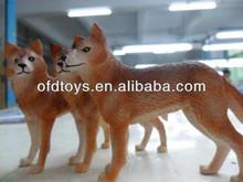 lively animal toys plastic animal figurine toys with animal shape
