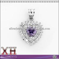Couple Love Pendants to Silver Jewelry