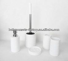 stoneware bathroom accessories