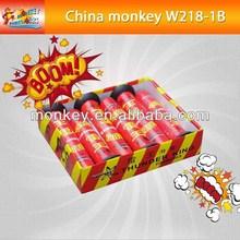 Strong report voice popular red thunder King single voice for children christmas Fireworks firecracker for sale(W218-1B)