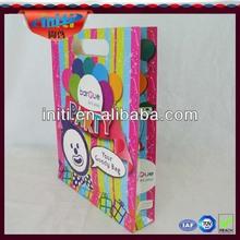 OEM shopping paper bag/2014 winter OEM fashion designed gift paper bag