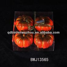 Artificial fake decorative Foam fruit of pumpkin Wholesale 2014