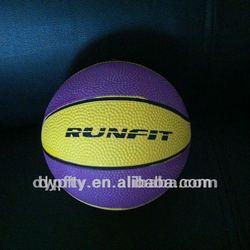 wholesale 8 panels custom made design rubber mini basketball 1#