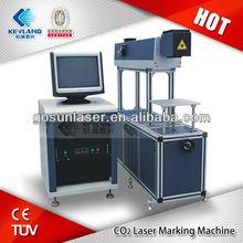 plastic bag tag marking Co2 Laser Marking Machine 50W 100W