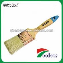 wood handle plastic pig bristle brush,wood paint brush,bulk paint brushes