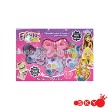 2014 Girl's make up cosmetic toy set eye make-up