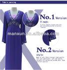 2014 new fashion blue abaya,musilim high quality women dress