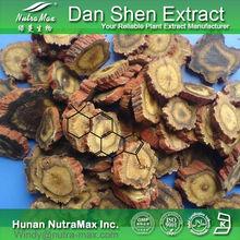 Natural Dan Shen extract, Dan Shen P.E., Dan shen root extract powder