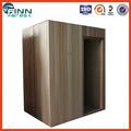 Famliy uso tradicional de vapor seco sauna de madera casa de 1.5 * 1.5 * 2.05 m cabina de sauna