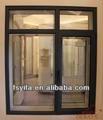 2014 importazione cina prodotti isolamento acustico telaio in alluminio vetro di finestra fissa griglie di design foto a foshan