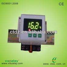 Din rail temperature controller