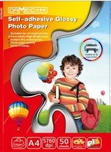 self adhesive photo paper matte inkjet photo sticker paper