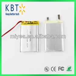3.7V Lithium Battery 1800mah PL703759 Li-ion Rechargeable Battery/Li-on Battery