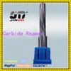 JINOO straight shank 6 flute solid carbide machine reamer