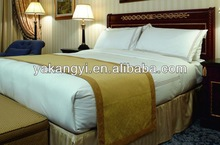 hotel bed skirt bed stripe bed throw design