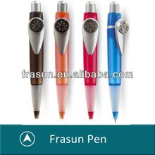 Click Fat Cute 4 Corlor Novelty Promotional Plastic Compass Pen