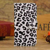 Classic PU Leather Wallet Case for iphone5c, Leopard Print Credit Card slots cover For Iphone 5c