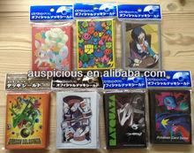 Custom design charming plastic card sleeves