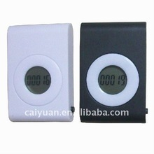 2014 fitness product Large Screen Pedometer Steps Sensitive with Pace Counter for Fitness