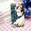 Hot sexy girl photo cover for iphone 5/5s phone case
