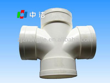 pvc fittings cross tee good price supplier