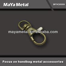 2014 high quality anti brass purse hooks accessories for ladies bag MaYa Metal