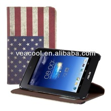 Flag Design Leather Case for Asus MeMO Pad HD 7 ME173 ME173X case