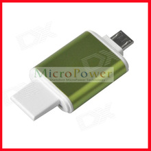 Hot sales 2-in-1 USB / Micro USB OTG & TF Memory Card Reader Connection Kit for Smart Phones