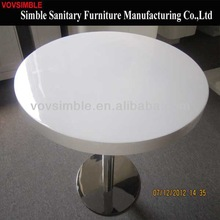 2014 used round banquet tables for sale artificial stone tables white corian tables
