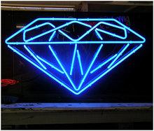blue light dimond led neon sign for decoration
