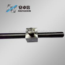 Machine leadscrew with special nut