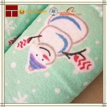 print flannel children sofa bed fabric