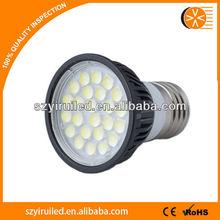 dimmable led ceiling downlight E27 led spotlight 5w Aluminum E27 / GU10 / MR16 good quality