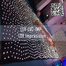 2014 new lattice led curtain display panel