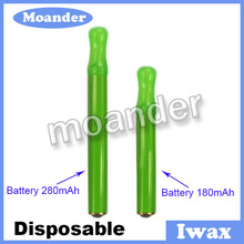 cheap disposable e-cigarette Iwax with beautiful colored packing
