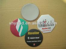 heat seal plastic pvc foam cup pad coaster