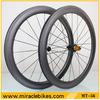 56mm New style Fat brand carbon wheels,carbon fiber road bicycle U shape wheels