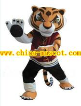 Kungfu panda mascot costume tiger