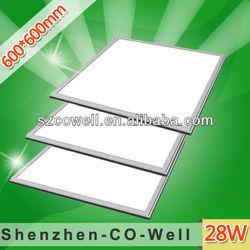 led panel light aluminum frame 28W SMD3014 240leds,600mmm for sky ceiling