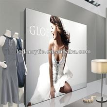 Super Bright Ultra-Thin LED Slim Light Box Brand Clothing Picture Frame